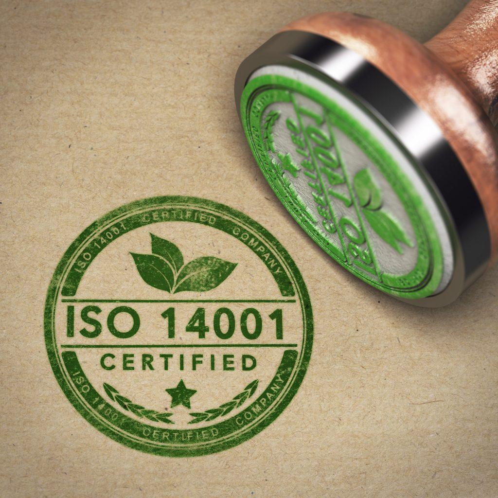 Certificaat, ISO 14001 2015, Gecertificeerd, Milieu
